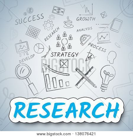 Research Ideas Means Gathering Data And Analysis