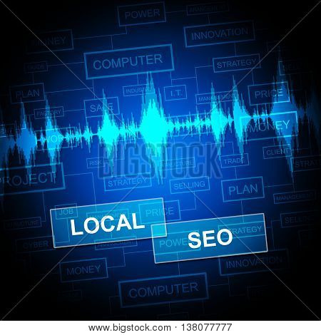 Local Seo Shows Search Engines And Business