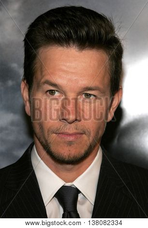 Mark Wahlberg at the Los Angeles premiere of 'Shooter' held at the Mann Village Theatre in Westwood, USA on March 8, 2007.