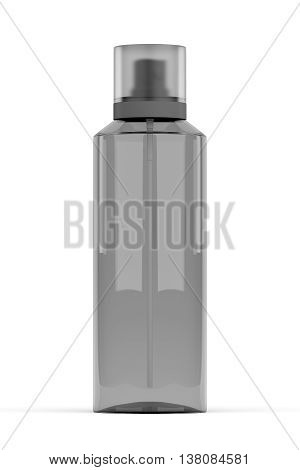 Perfume Bottle Container Isolated On White, 3D Rendering