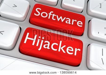 Software Hijacker Concept