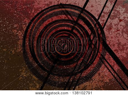 background image with celtic and pre-celtic patterns.