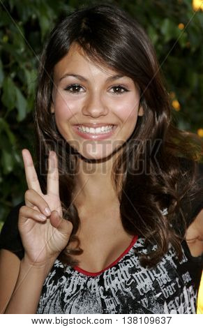 Victoria Justice at the 2006 Children's Choice Awards held at the Palladium in Hollywood, USA on May 11, 2006.
