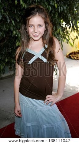 Ryan Newman at the 2006 Children's Choice Awards held at the Palladium in Hollywood, USA on May 11, 2006.