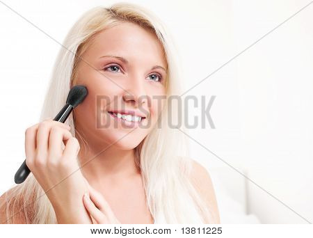 Woman With A Brush