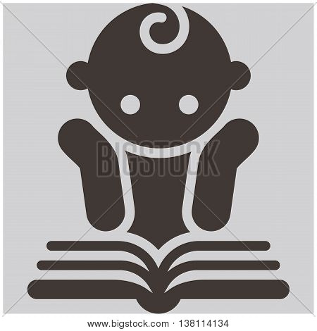 The Kids reading book - activities icon