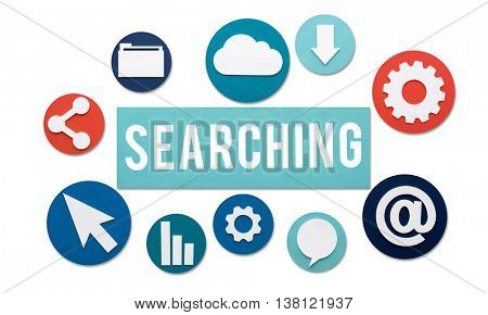 Searching Seeking Discover Exploration Concept