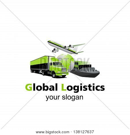 Air cargo, trucking, maritime shipping.On-time delivery. Vehicles designed to carry large numbers. You can easy change colors or move each element.