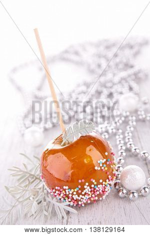 sweet toffee candy apple