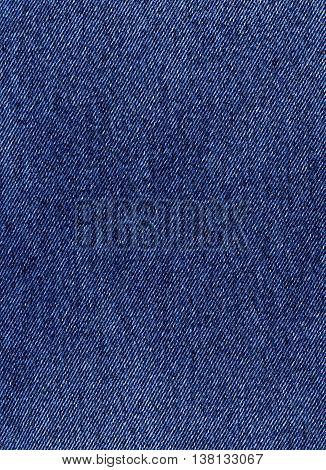 Dark bue denim tissue texture material closeup