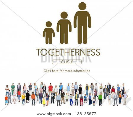 Togetherness Family Generations Relationship Concept