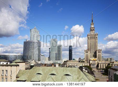 Warsaw City, Poland