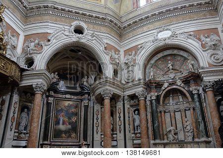 Royal Church Of San Lorenzo, Turin, Italy