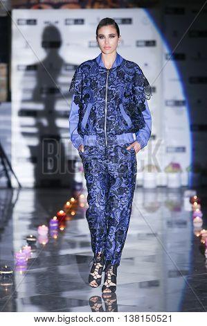 Fashion Week Zagreb : Kata Szegedi, Zagreb, Croatia.