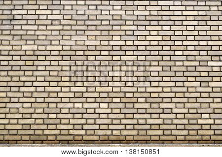 an Old brick wall exterior building background