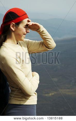 Mädchen Übersicht Landschaften