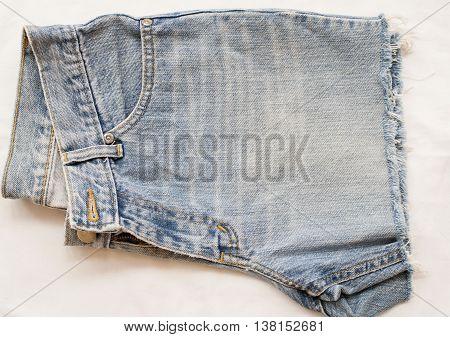 background texture design jeans denim short pants