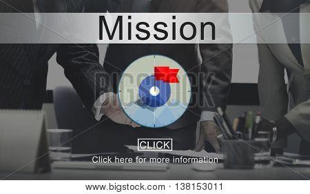 Goals Aim Purpose Mission Target Concept