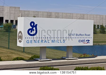 Ft. Wayne IN - Circa July 2016: General Mills Distribution Center Operated by Exel Inc. I
