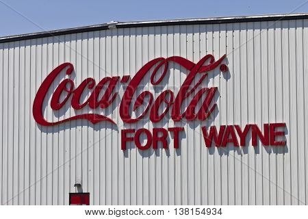 Ft. Wayne IN - Circa July 2016: Coca-Cola Bottling the World's Largest Beverage Company III