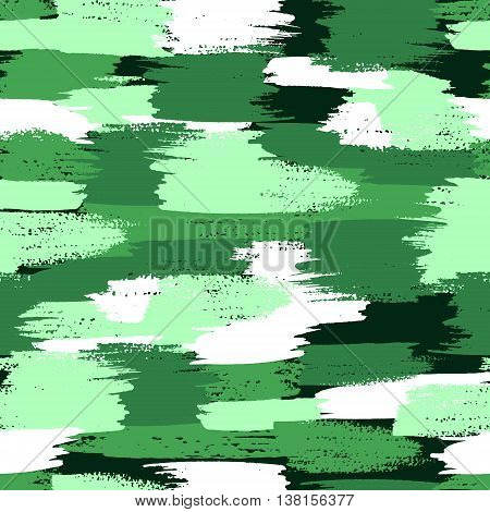 Vector military camouflage pattern. Green color camouflage.