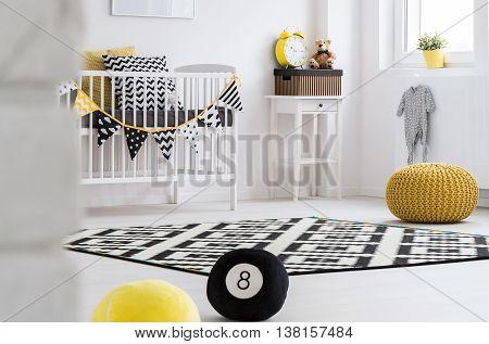 Trendy Baby Room