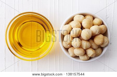 Macadamia Nut Oil And Macadamia Nuts