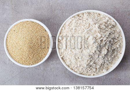 Amaranth Seed Flour And Amaranth Seeds