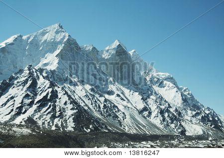 Bhagirathi Parbat peak in Himalayan