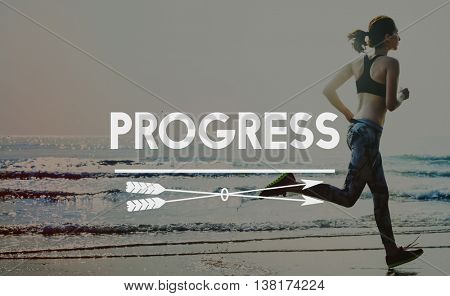 Progress Advance Vision Improvement Innovation Concept
