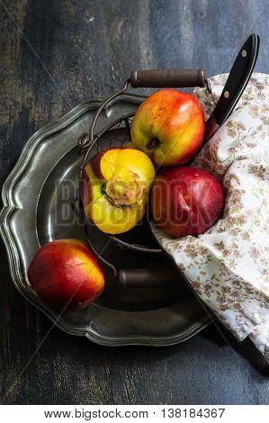 Fresh Organic Peach