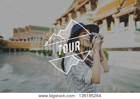 Tour Travel Expedition Trip Vacation Holiday Concept