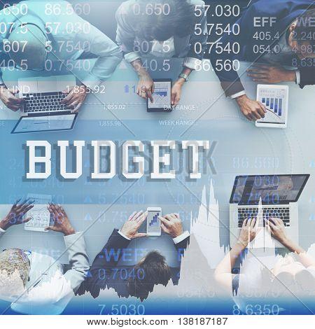 Budget Money Finance Economy Concept