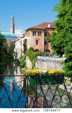 Vicenza Bridges And Rivers