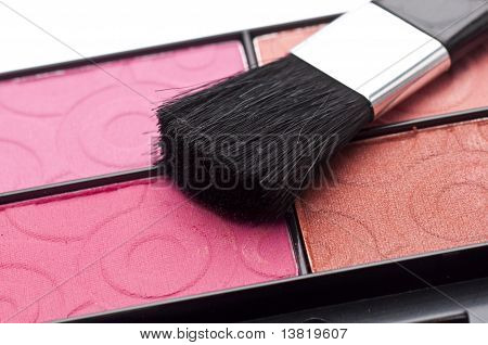 Close Up Of Cosmetic Palette