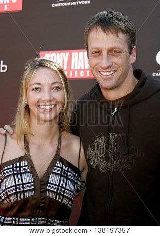 Lhotse Hawk and Tony Hawk at the Tony Hawk Foundation 3rd Annual Stand Up For Skateparks held at the Green Acres Estate in Beverly Hills, USA on November 5, 2006.