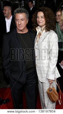 Dustin Hoffman at the Los Angeles premiere of 'Stranger Than Fiction' held at the Mann Village Theatre in Westwood, USA on October 30, 2006.