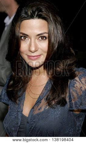 Marisol Nichols at the Los Angeles premiere of 'Stranger Than Fiction' held at the Mann Village Theatre in Westwood, USA on October 30, 2006.