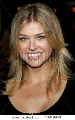 Adrianne Palicki at the Los Angeles premiere of 'Stranger Than Fiction' held at the Mann Village Theatre in Westwood, USA on October 30, 2006.