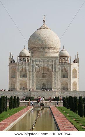 Taj Mahal construction