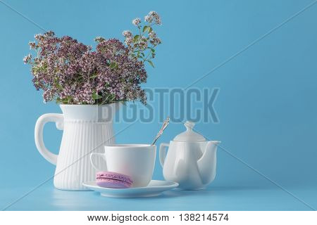 Bouquet Of Blossoming Oregano