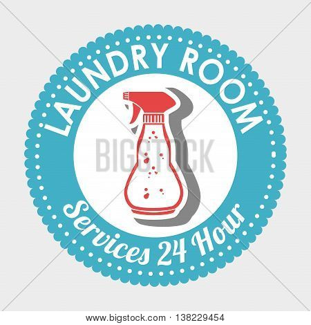 laundry room isolated icon design, vector illustration  graphic