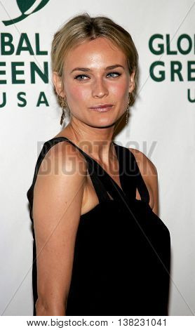 Diane Kruger at the Global Green USA Pre-Oscar Celebration to Benefit Global Warming held at the Avalon in Hollywood, USA on February 21, 2007.