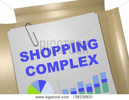 Shopping Complex Business Concept