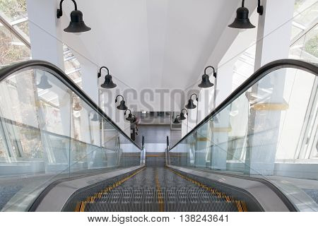 The automatic elevator are use for up and down moving