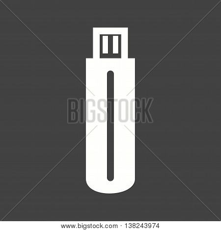 Save, usb, drive icon vector image. Can also be used for networking. Suitable for use on web apps, mobile apps and print media.