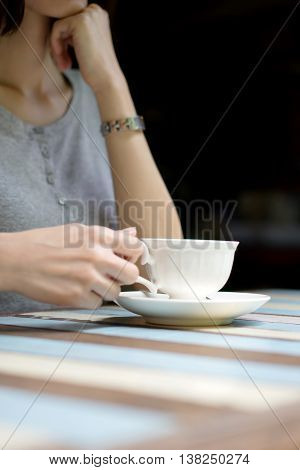 woman outdoor closeup isolated mocha cold street photo cafe warm disposable take attractive caffeine white liquid coffee drink cup summer outside old morning people hold female away tea mug espresso lifestyle young up retro girl close effect cappuccino vi