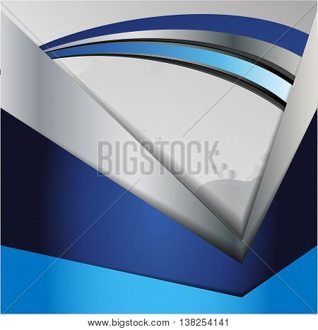 vector blue elements abstract design. Abstract background, flyer brochure