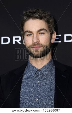 LOS ANGELES - JUL 11:  Chace Crawford at the  Undrafted Los Angeles Premiere  at the ArcLight Hollywood on July 11, 2016 in Los Angeles, CA