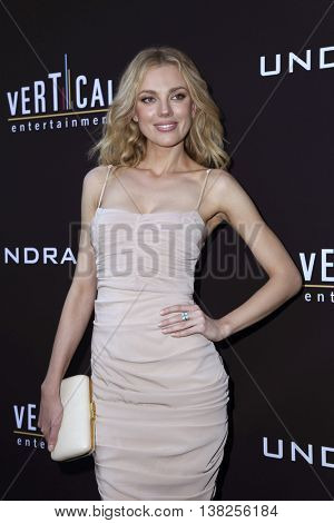 LOS ANGELES - JUL 11:  Bar Paly at the  Undrafted Los Angeles Premiere  at the ArcLight Hollywood on July 11, 2016 in Los Angeles, CA